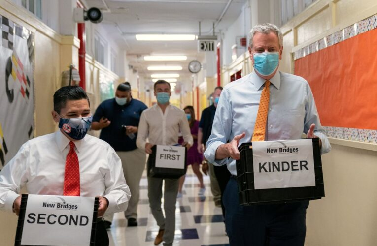 State budget cuts threaten 9,000 teacher jobs and NYC's in-person learning plans, Carranza warns