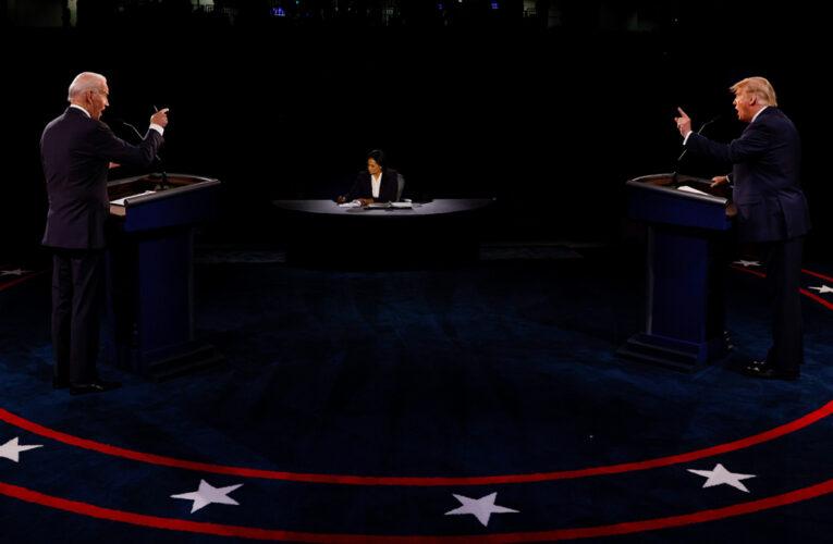In Tamer Debate, Trump and Biden Clash (Again) on President's Pandemic Response