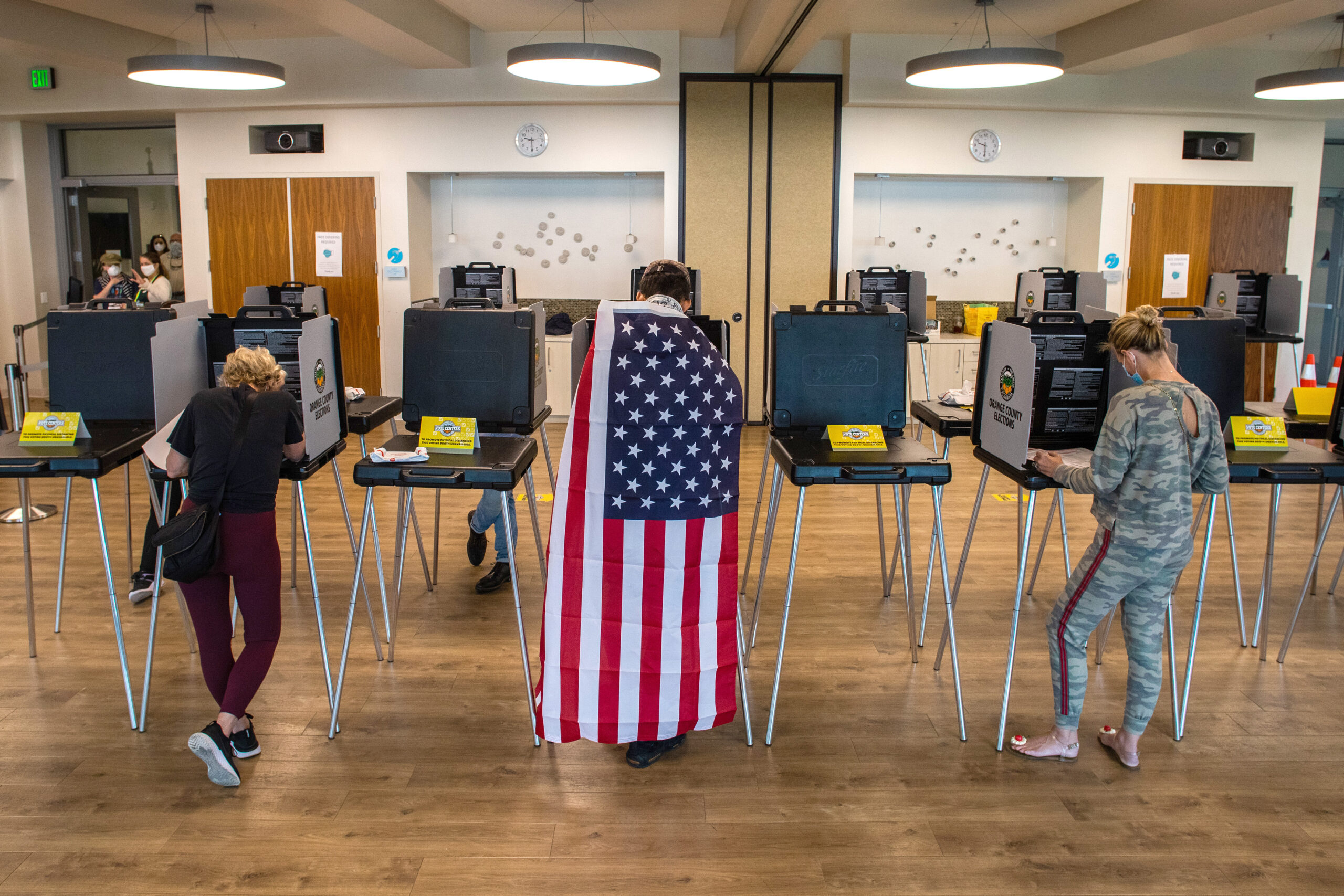 Voters think Texas election results are accurate — but many question U.S. results, poll finds