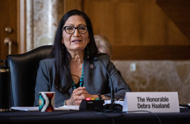 Haaland questioned by Senate committee in confirmation hearing