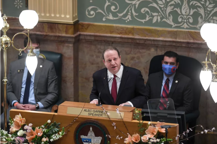 Jared Polis outlines education goals, pandemic recovery in State of State address