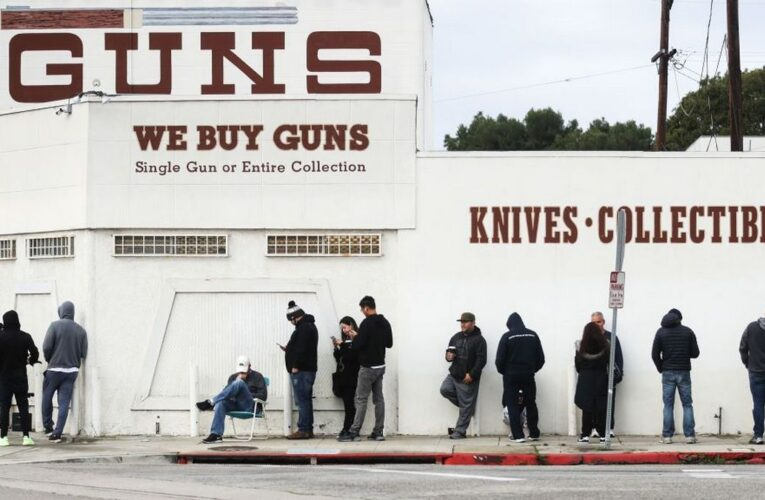 With new administration, record number of people bought guns in January