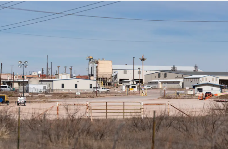West Texas is on track to get even more nuclear waste — thanks to the federal government