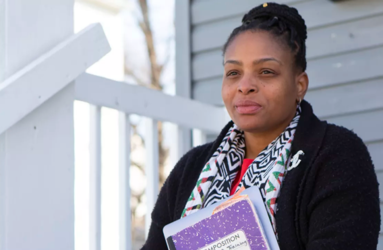 How a Newark teacher called, texted, and trudged through the snow to reach her students during COVID