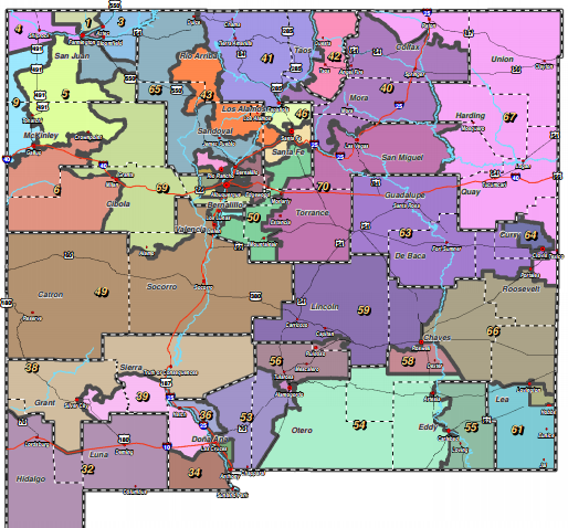 Time grows thin for two redistricting bills for New Mexico