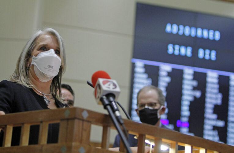A dramatic finish to New Mexico's legislative session