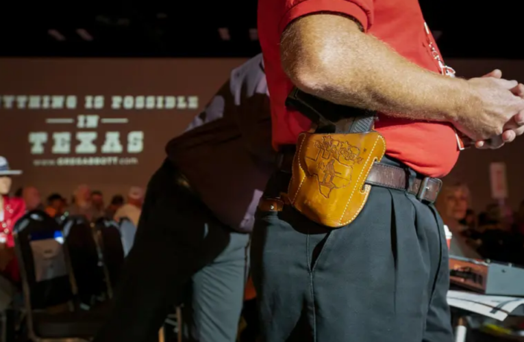 """Texas Republicans have long pushed to allow """"constitutional carry"""" of guns. Proponents say this year is their best chance."""