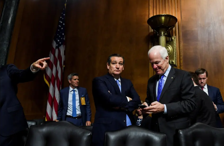 Ted Cruz has rejected most of Biden's cabinet picks so far. John Cornyn has taken a different approach