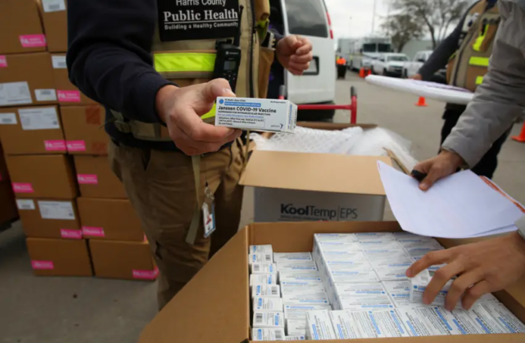 Texas pauses J&J vaccinations as feds plan to review six reports of blood clotting among 6.8 million doses nationwide