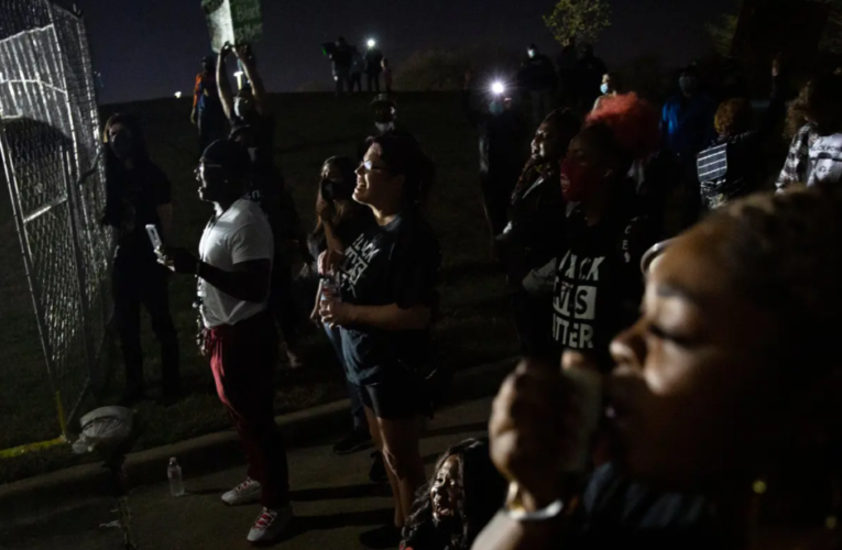 Marvin Scott III died in Texas police custody. His family will protest until the officers involved are arrested.