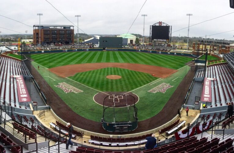 NCAA announced 20 possible baseball regional sites. Mississippi has three of them.
