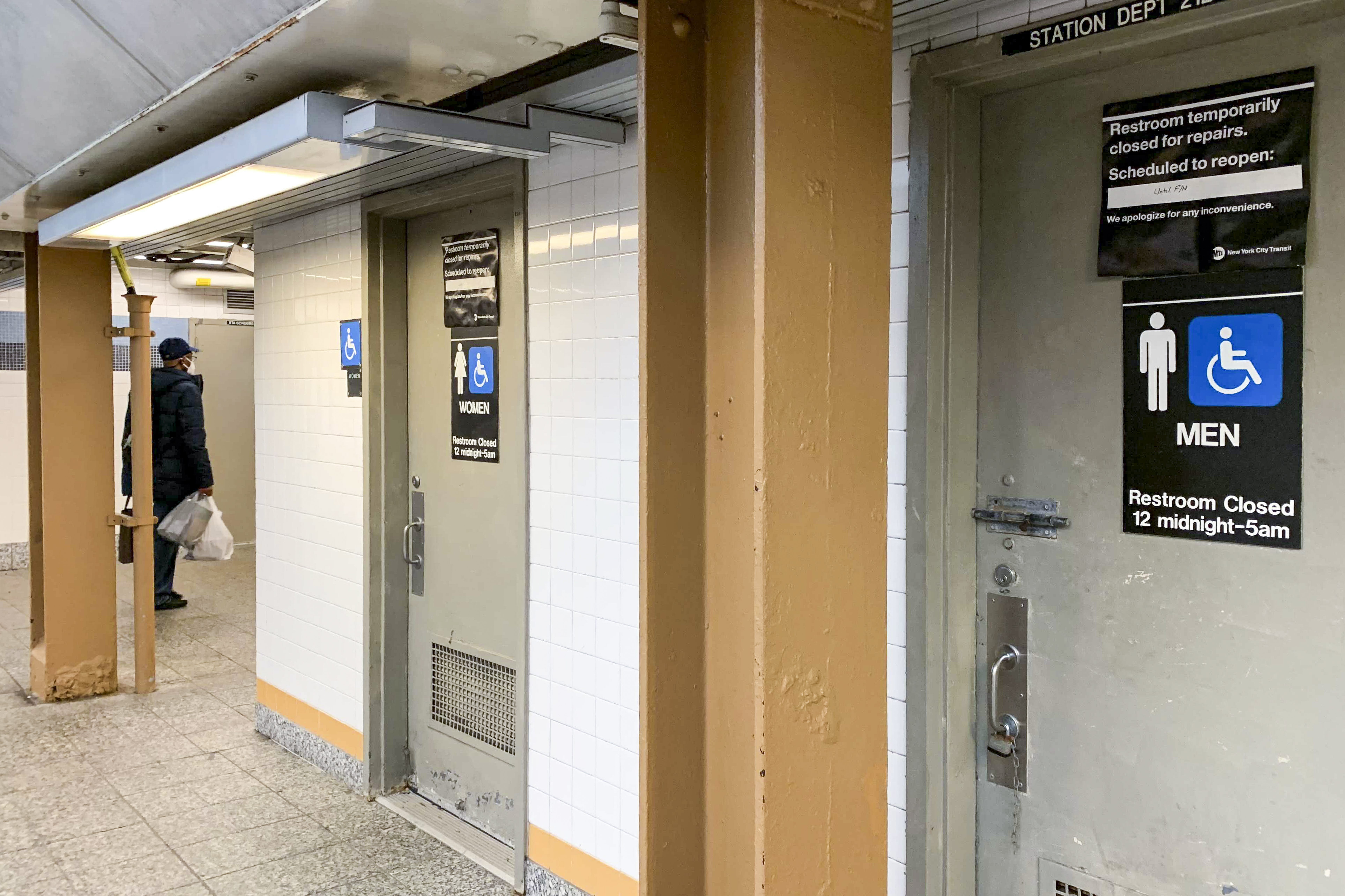 A Push to Unlock Subway Bathrooms as the City Gets Moving Again