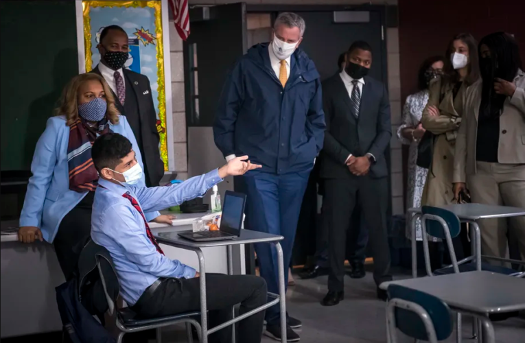 Will NYC schools offer a remote option this fall? Officials are hedging.