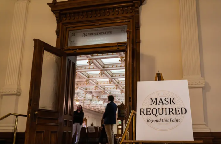Texas House lifts its mask requirement for chamber and committees