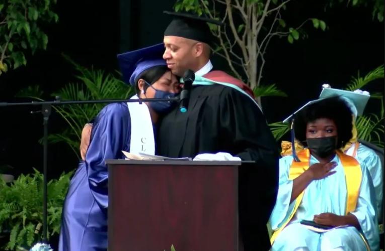 This star Philadelphia principal urges graduates to 'rebuild the world' in their vision