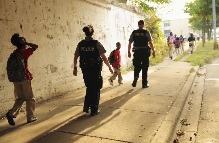 In Chicago, the debate over school police isn't over — it's just quieter