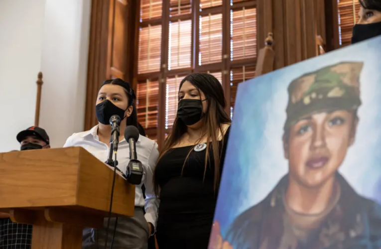 A year after Vanessa Guillén's death, lawmakers and advocates call for Congress to pass military sexual assault reform bill