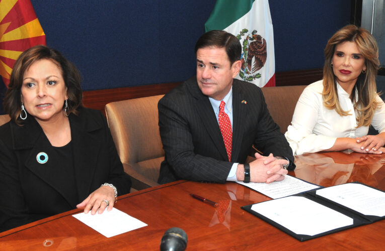 Arizona, Sonora, sign water and air quality agreement