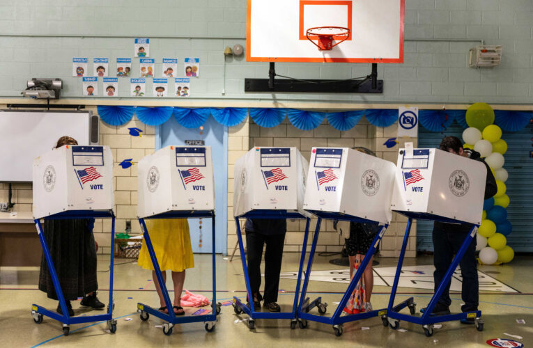 New Yorkers Cast Ballots With Hopes of a New City for All