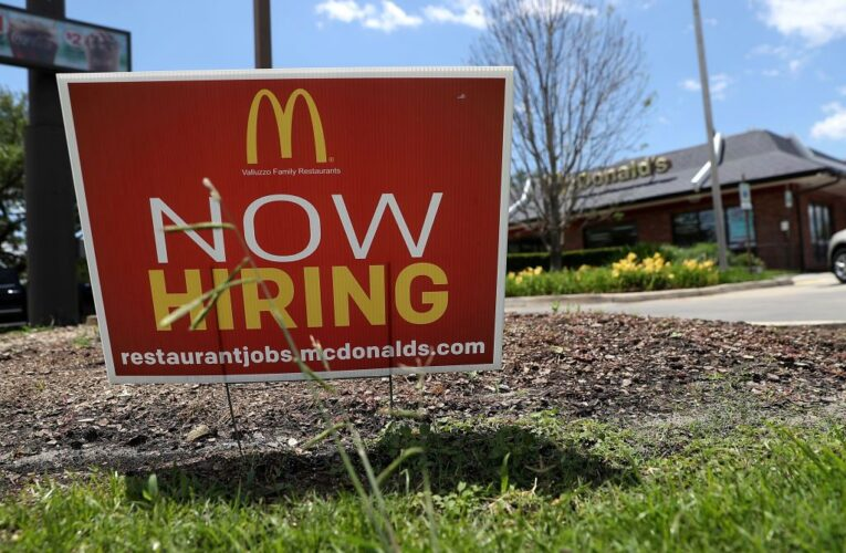 California employers add 104,500 jobs; unemployment rate drops to 7.9%