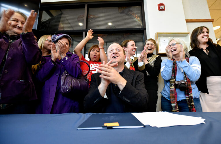 Polis signs trio of tax bills