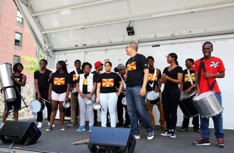 With samba, this Harlem music teacher turned a 50-student class into an asset