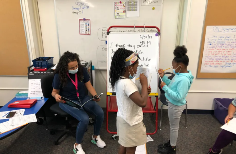 Denver charter network banks on intensive summer tutoring to help students catch up post-COVID
