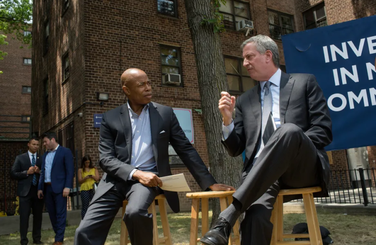 De Blasio's pledge to remove NYPD control of school safety shows little signs of progress. Eric Adams may decide the plan's fate.