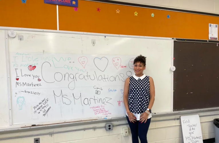 This Newark educator returned 'home' to teach Deaf students. Now she's the district's Teacher of the Year.