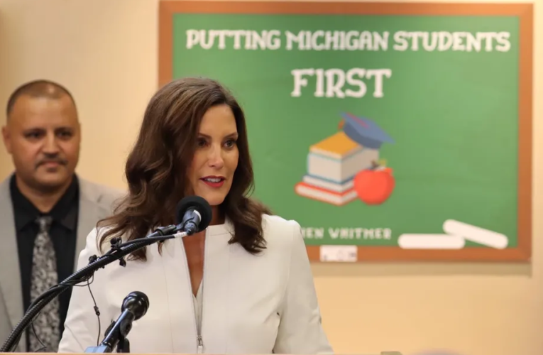 Whitmer rejects $155 million plan to give $1,000 scholarships for elementary reading help