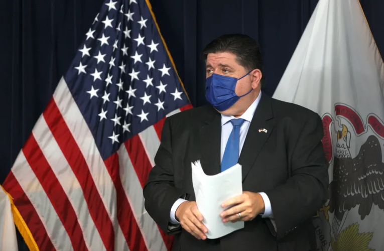 Pritzker issues universal mask mandate for Illinois schools