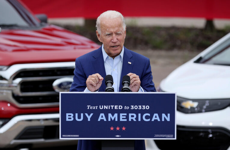 Biden's electric car plan is big manufacturing to favor unions