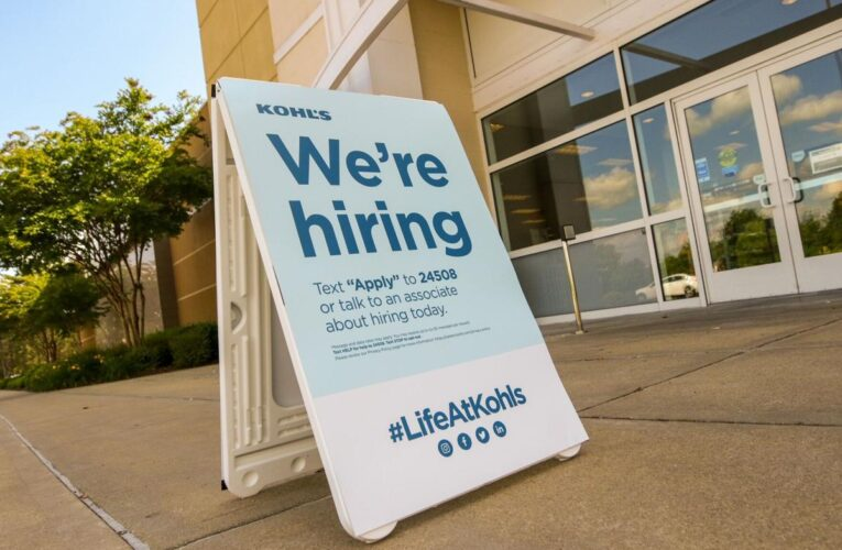Unemployment claims dip but remain higher than pre-pandemic levels